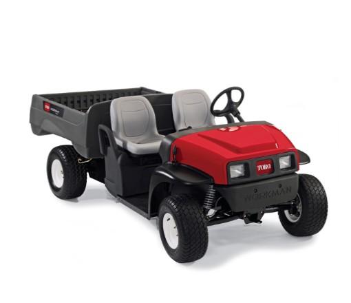 Toro Workman MDE electric vehicle